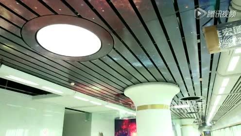 武汉颜值最高地铁站亮相