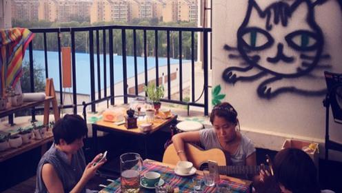 露天吉他练习