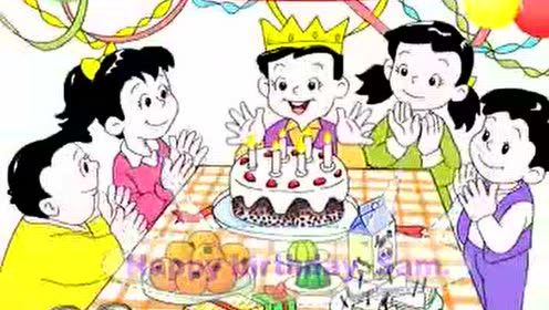 上海版一年级英语下册(牛津1B)Unit 7 Birthday party