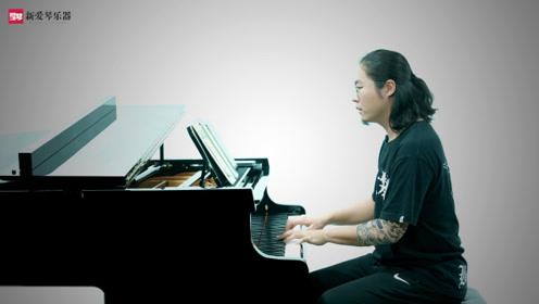 钢琴演奏《凉凉》超好听,大爱《凉凉》流行钢琴教学!