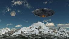 长城惊现UFO,美国直升机列阵伴飞不明废物高清视频曝光