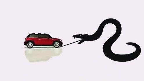 国外汽车经典创意广告