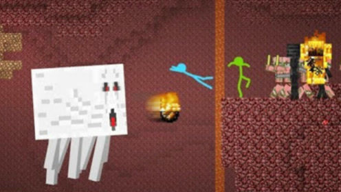 我的世界:火柴人地狱之战 搞笑动画