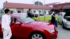 穷小伙开豪车去公司,同事笑他给人当司机,谁知小伙竟是新任老板
