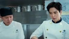 决战食神:米其林三星大厨开的餐厅,对细节把控的分毫不差。