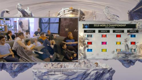 LOL S9全球总决赛抽签 C9队员现场 分到A组