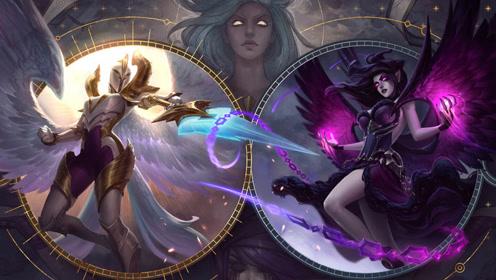 超神解说:堕落天使莫甘娜,中单无解打法,推