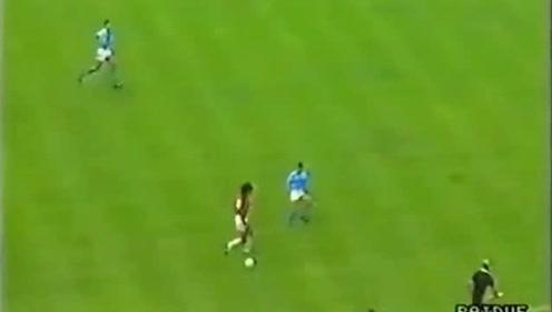 马拉多纳vs古力特,当年意甲还是小世界杯,老马一己之力单挑整个米兰城