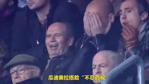 梅西欧冠最精彩一次过人 轻松穿裆曼城大将 看台的瓜迪奥拉兴奋了