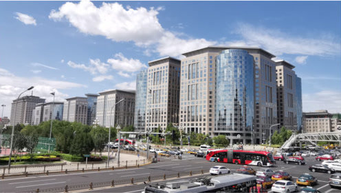 李嘉诚在北京长安街上投资的80万平米商业建筑群,很是壮观