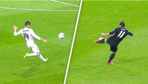 皇马队史欧冠传奇进球,足坛巨星的精彩进球告诉世界什么叫豪门