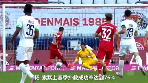 德甲5大顶级门将 诺伊尔PK特拉普 神仙扑救全在这里了