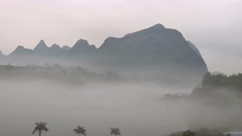 雾里看三岛湾,一种不一样的感触!真美!