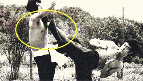 无敌的中国功夫!李小龙1秒踢腿6次,慢动作才能看清,45年无人能超越!