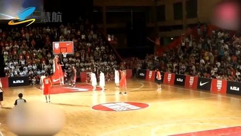 勒布朗詹姆斯历年中国行!残暴扣篮集锦,说好的篮球梦呢?