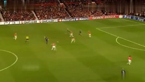 欧冠经典曼联拜仁巅峰对决,罗贝里连线超级世界波绝杀曼联