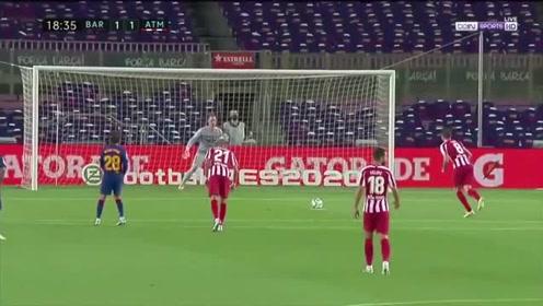西甲:巴萨22马竞落后榜首1分梅西700球里程碑萨乌尔两点射