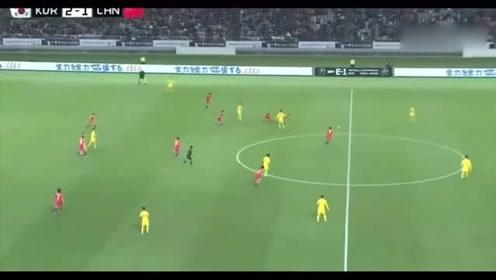 东亚杯苏东韦世豪的进球是欧洲水平,这个停球是中甲水平啊