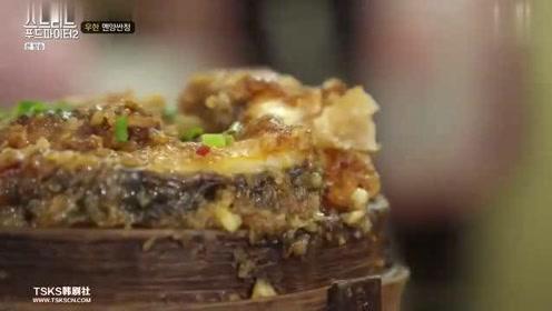 综艺;白钟元在武汉一家小馆子,点了三蒸,美滋滋的边吃边讲故事