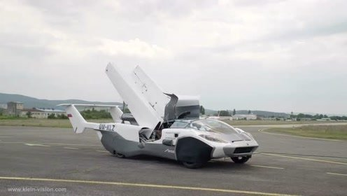 Klein Vision可变形飞行汽车已完成首次空中测试