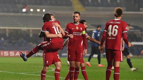 若塔帽子戏法,萨拉赫、马内进球,欧冠利物浦5-0大胜亚特兰大!