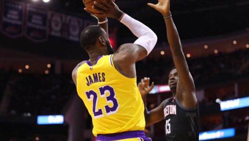 没有软肋!詹姆斯19-20赛季后仰跳投集锦!35岁还在进化