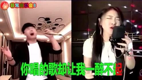 亚男与对面主播Pk演唱《可可托海牧羊人》,粉丝们都说超级好听!