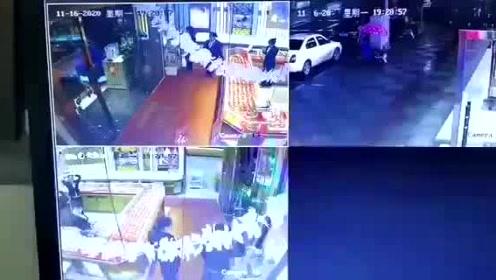华容县老庙黄金店监控视频