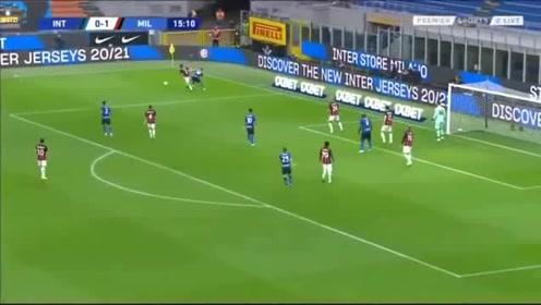 意甲联赛:老当益壮!伊布三分钟梅开二度!