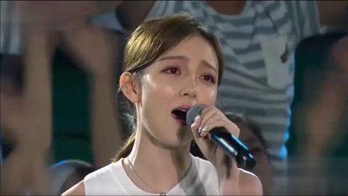 汪小敏一首《一生中最爱》,唱得观众忍不住落泪,现场超美