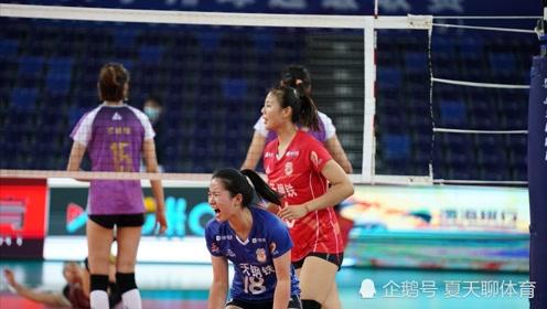 龚翔宇撑起了江苏女排右翼进攻!中国女排超级联赛决赛第一回合精彩集锦!