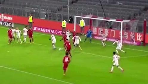 半场被0-2小场面:拜仁下半场连缀五球完成大逆转!不愧是欧冠冠军!