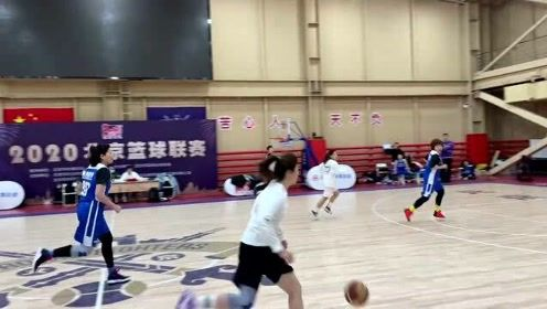 第一次参加这样的女篮比赛,不太会打,但是很珍贵
