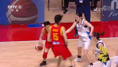 经典之战!中国女篮大胜韩国