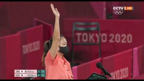东道主优势?伊藤美诚比赛中投诉灯光晃眼:日本主办方马上照办并关掉#东京奥运会 #奥运会