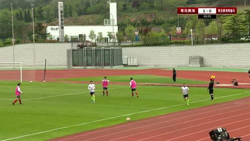 【回放】足球友谊赛:青岛黄海一队vs青岛黄海预备队 上半场