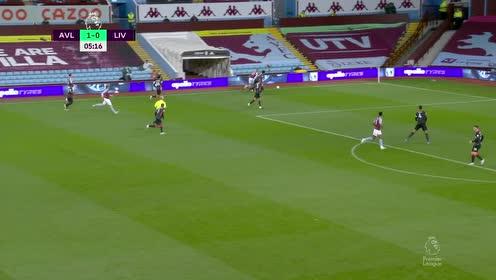 【回放】20/21英超第4轮:阿斯顿维拉vs利物浦 上半场