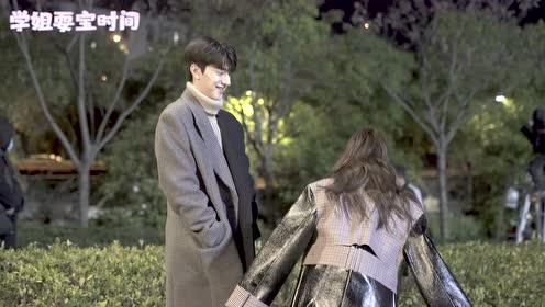 BTS: Xu Lu and Lin Yi doing military boxing in a romantic winter | Love Scenery