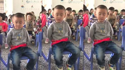 幼儿园小孩在这样的环境都能打瞌睡!