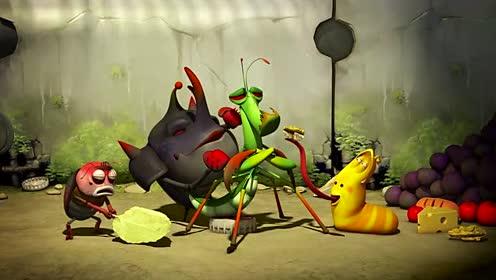 幽默搞笑短片动画-爆笑虫子第一季83