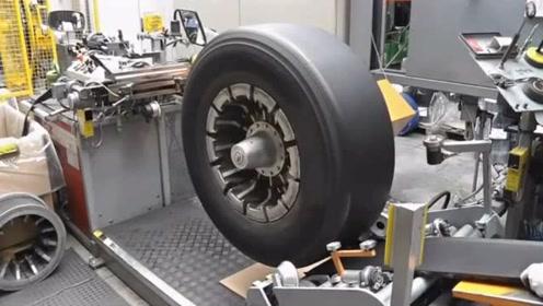 德国制造汽车轮胎的车间