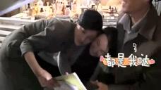 《红蔷薇》花絮:杨子姗炮火中美人救美,姐妹俩表情亮了!_0