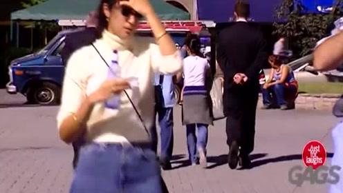 国外顶级恶作剧搞笑视频第127期街头恶搞笑死了