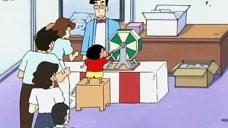 """蜡笔小新:小新不贪心,为了""""白米"""",抽中了大奖都要换成米!"""