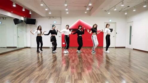 GFriend新曲《Fever》舞蹈练习室视频,帅气的小女