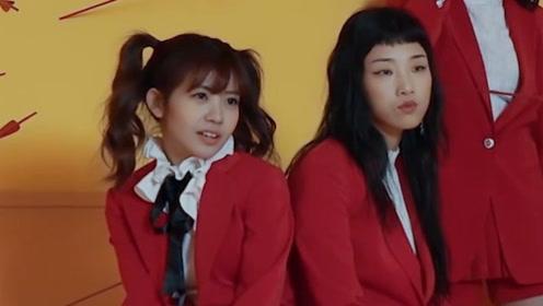MV拍摄现场,她们玩的好开心啊