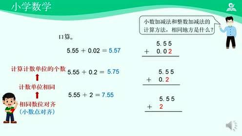 四年級數學下冊六 小數的加法和減法