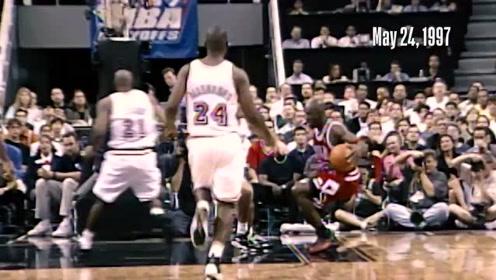 历史上的今天 1997年MJ熄灭热火