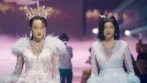 亚太模特大赛中国赛区,两大网红模特现身走秀秀身材