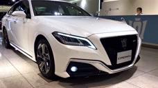 带4驱的新丰田皇冠来了,豪华程度不逊宝马3,确定引入国内网友热看!